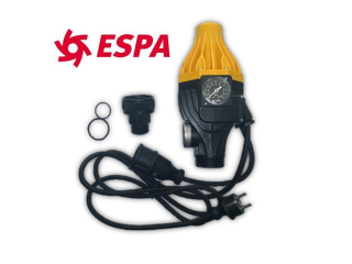 ESPA ASPRI 15 4 MB Hauswasserwerk Messing Made in SPAIN AM2E mit Pressdrive Druckschalter