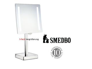 SMEDBO OUTLINE FK473E LED Kosmetikspiegel 5x Fach Vergrößerung