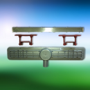 KESSEL Duschrinne LINEARIS Compact Länge 550 mm 45600.61 80mm Höhe
