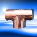 Viega Kupfer T-Stück Nr. 5130 28x22x28 mm...