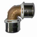 Viega Sanfix P Winkelkupplung 25 mm 90° 2116 Nr 566210