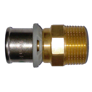 "Viega Sanfix P Übergangsstück 40 mm x 11/4"" AG Mod. 2111 Nr. 566357"