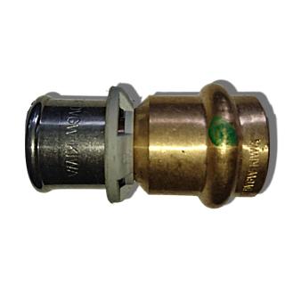 Viega Sanfix Übergangsstück auf Kupfer 40x35 mm PE-Xc Rotg. Mod.2213P Nr.605520