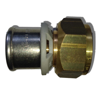 "Viega Sanfix P Verschraubung 40 mm x 11/4"" 2163 Nr. 566654"