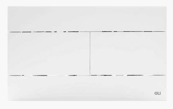 oli sanit r wc dr ckerplatte slim weiss 659041 w fischer installat 24 95. Black Bedroom Furniture Sets. Home Design Ideas