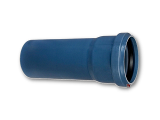 Polo-kal NG Rohr DN 40 x 750 mm Nr. 02019 m. Muffe