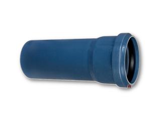 Polo-kal NG Rohr DN 75 x 750 mm Nr. 02039 m. Muffe