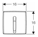 Geberit Urinalsteuerung 115.817.11.5 IR 230V  Basic weiß