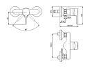 Ideal Standard Brauseeinhebelmischer BASIC B 0297AA chrom