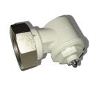 Oventrop Thermostat Winkeladapter M 30x1,5 weiß...