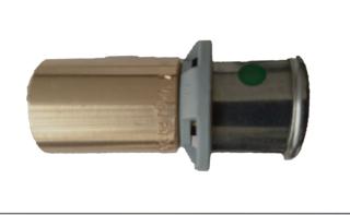 Viega Sanfix P Einsteckstck Mod. 2113 Nr. 566678 25 x 22 mm