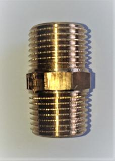 """Viega Rotguss Doppelnippel Nr. 3280 1/8"""""""