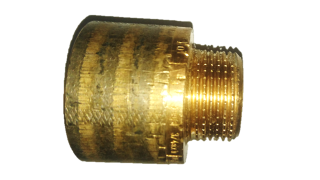 "Viega Rotguss Hahnverlängerung Nr. 3525 DIN 2999 1/2"" x 30 mm DIN 1988 TRWI TRGI 1986/96"