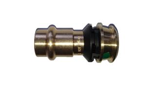 Viega Raxofix Übergangsstück Mod. 5313P Nr. 646707 16x15 mm m. Pressende Rotguss