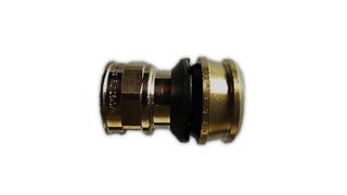 """Viega Raxofix Übergangsstück Muffe Mod. 5312 Nr. 646165 16 mm x 3/4"""" IG Rotguss"""