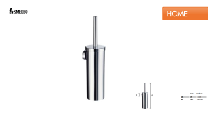 SMEDBO HOME HK332 WC Bürstengarnitur Wandmontage verchromt