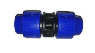 """PE Kupplung Verschraubung  20mm D20 (3/4"""")  PE PN16"""