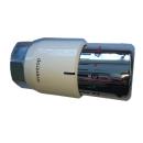 Oventrop UNI SH Thermostat Design Kopf weiss/chrom  M...