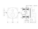 Ideal Standard UP Wannenfertigset chrom BASIC Nr. A 5993AA