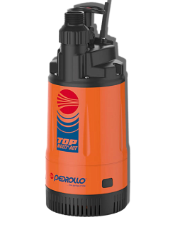 Pedrollo TOP Multi-Tech 2 Automatic Pumpe 4800l H42m mit 10m Kabel