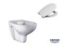 GROHE B-A-U Wand WC Tiefspül 39427 SET rimless...