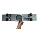 TECE 700mm Edelstahl Duschrinne TECE-SET 15103070 inkl. Rost Mulde Füße Sifon