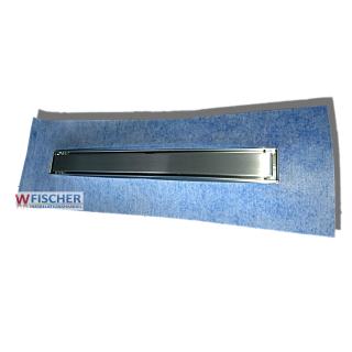 TECE 800mm Edelstahl Duschrinne TECE- SET 15101080 inkl. Rost Mulde Füße Sifon
