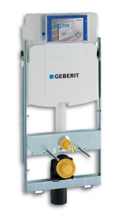 Geberit GIS Montageelement f. Wand-WC 461.311.00.5 m.UP-Spülk. UP320 BH 114 cm