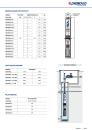 "Pedrollo 4"" Tiefbrunnenpumpe 4Blockm 2/9 3600l/h 70mH 230V 20m Kabel"