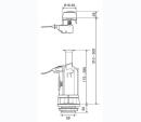 Oli Wartungsset für AP Spülkasten Atlas Cabel mit Füllventil 099939