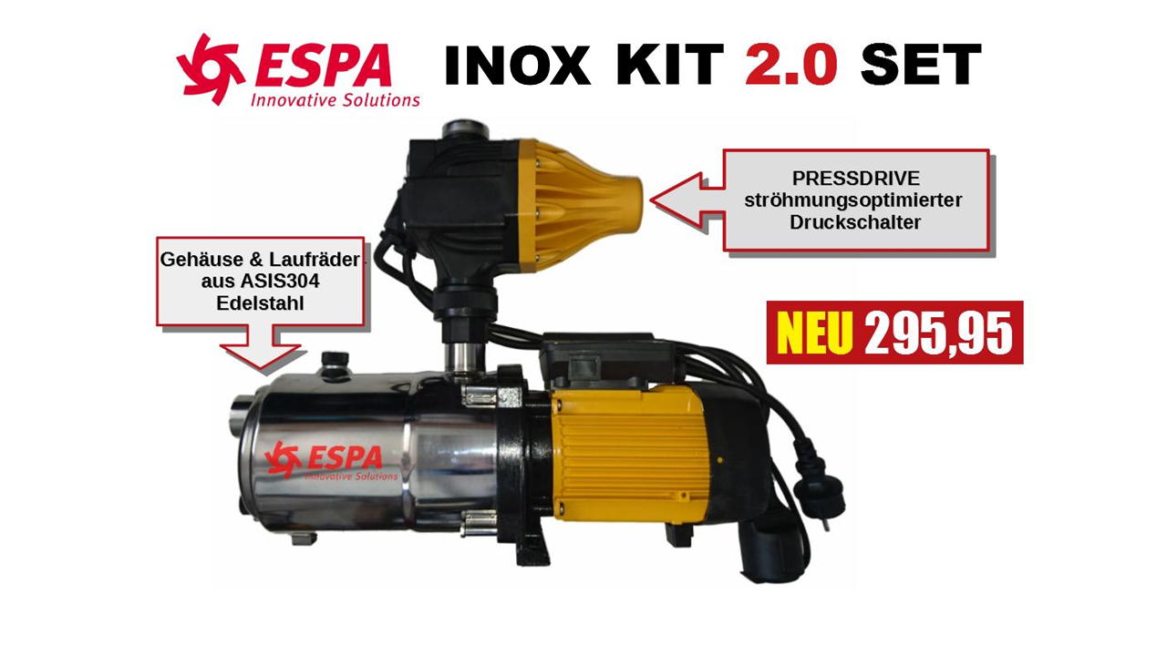 Hauswasserwerk ESPA INOX