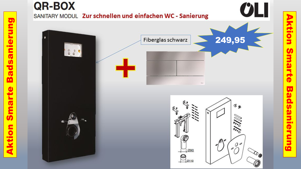 OLI QR BOX die Smarte BAD - Sanierung